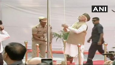 Azad Hind Government 75th Anniversary: PM Narendra Modi Hoists National Flag At Red Fort; Watch Live Streaming Of PM's Speech